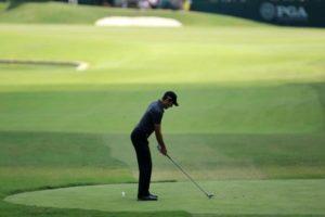 addressing golf ball - One Stroke Golf